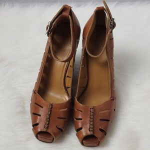 FRYE Gwen Wedge Ankle 10M